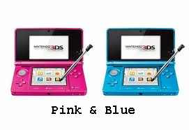 3DS Pink & Blue