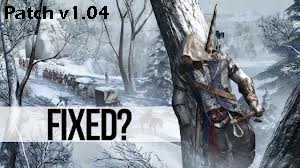 Assassins Creed 3 patch v1.04