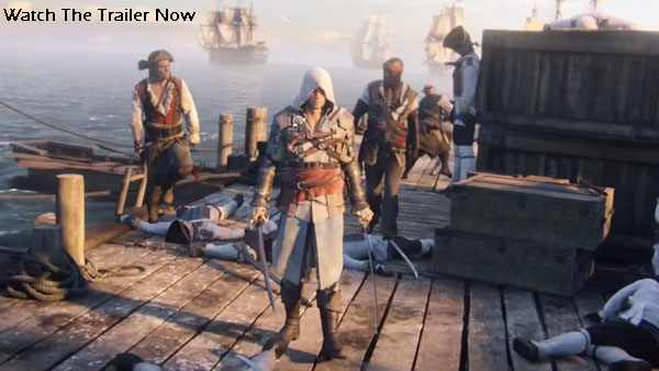 Assassins Creed 4 trailer