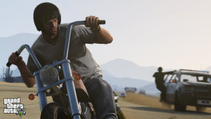 GTA V Motorbike Screenshot