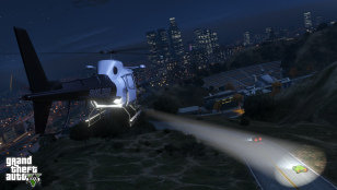 GTA V Helicopter Screenshot
