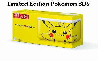 Nintendo 3DS Pokemon