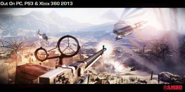 Rambo Video Game screenshots