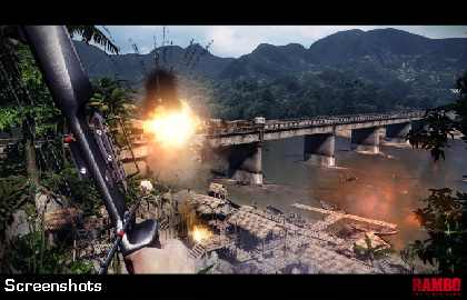 Rambo Video Game