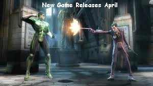 New Game Releases April