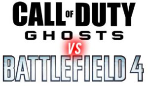 COD Ghosts V Battlefield 4