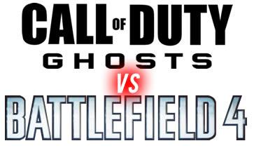 COD Ghosts V Battlefield 4