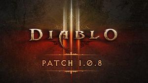 Diablo 3 patch 1.0.8