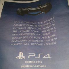 PS4 ad