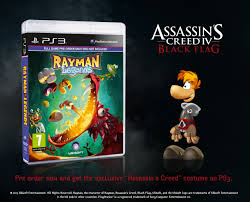 Rayman Legends Assassins Creed Skin