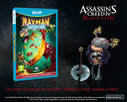 Rayman Legends Assassins Creed Wii U