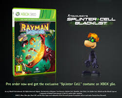 Rayman Legends Splinter Cell Skin