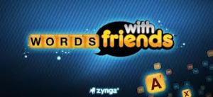 Words With Friends Facebook app
