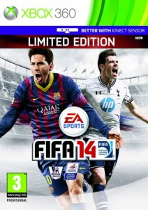 FIFA 14 UK Cover