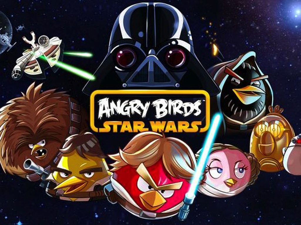Angry Birds Star Wars Screens