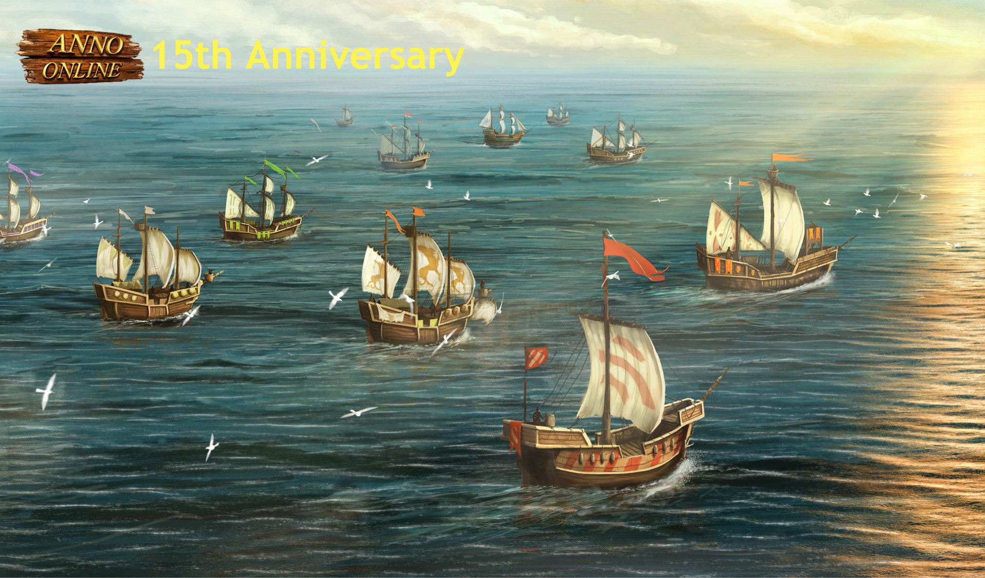 Anno Online 15th Anniversary