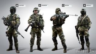 Battlefield 4 Classes Screen 1