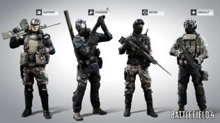 Battlefield 4 Classes Screen 2