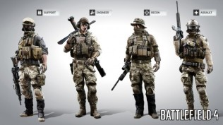 Battlefield 4 Classes
