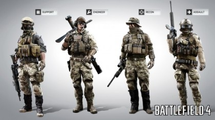 Battlefield 4 Classes