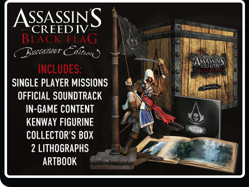 Buccaneer Edition Assassin's Creed 4 Black Flag