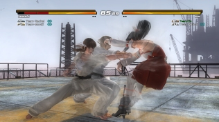 DOA5 Ultimate 2v2 Screen 1