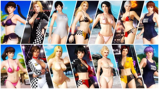 DOA5 Ultimate 2v2 Screen 9