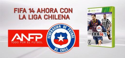 FIFA 14 Chile league