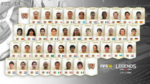 FUT 14 Legends