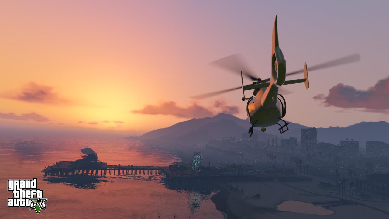 Grand Theft Auto Screen 5