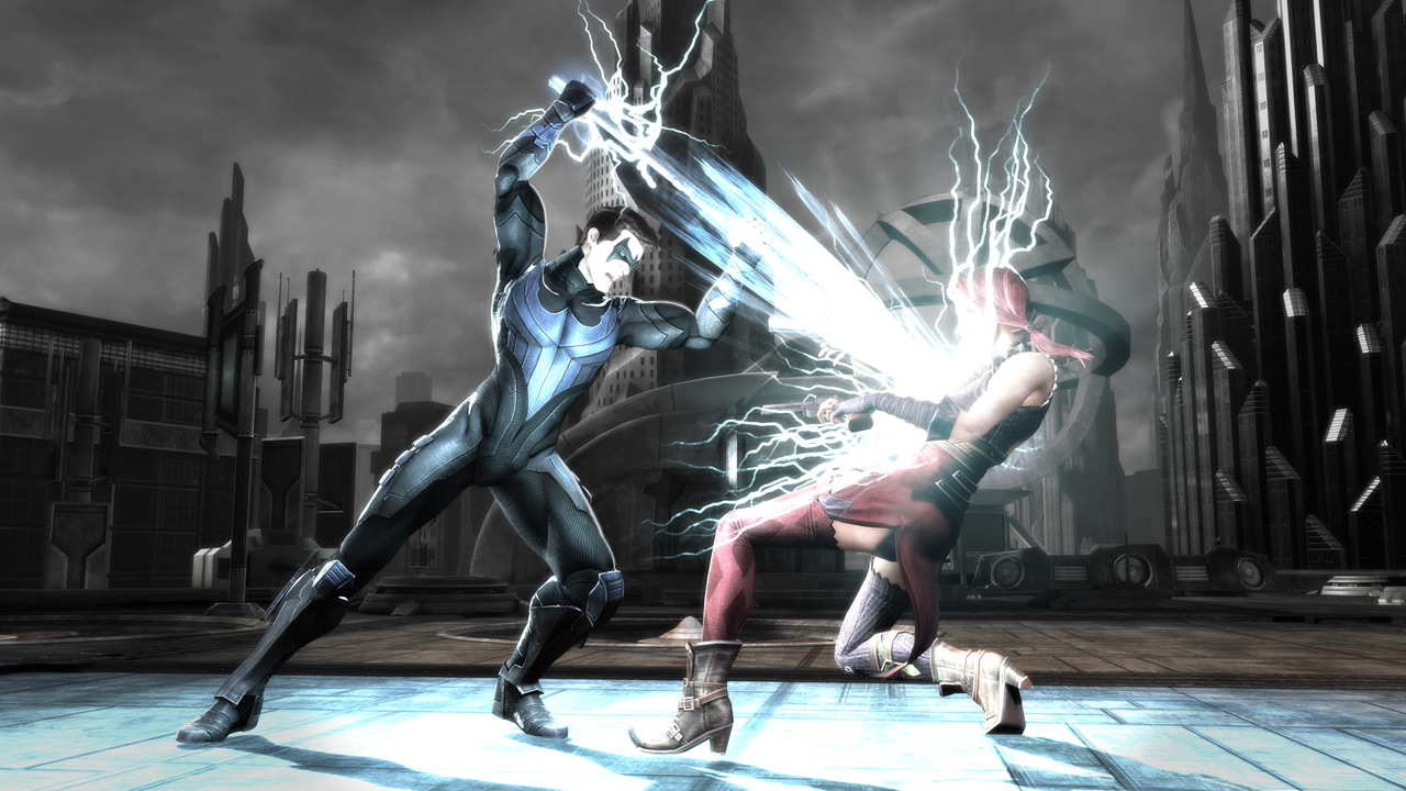 Injustice Gods Among Us Tease