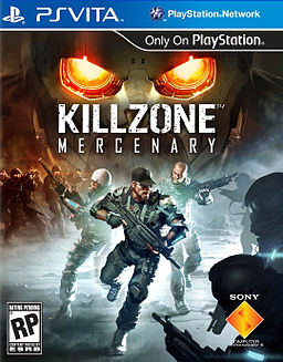Killzone Mercenary Front Cover