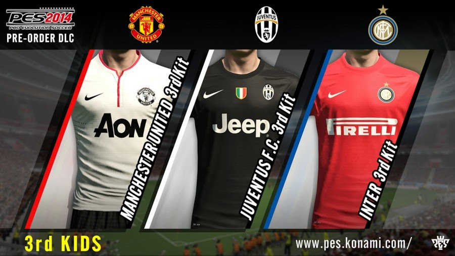 PES 2014 DLC Kits