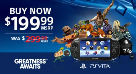 PS Vita Price Drop