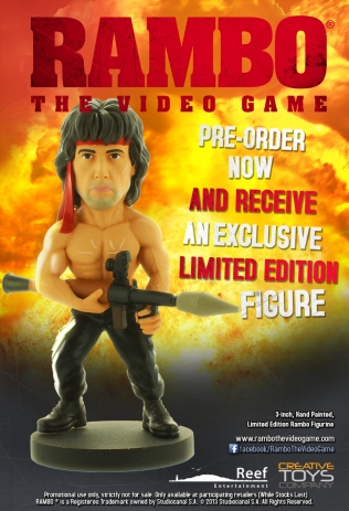 Rambo Figurine Screen 1
