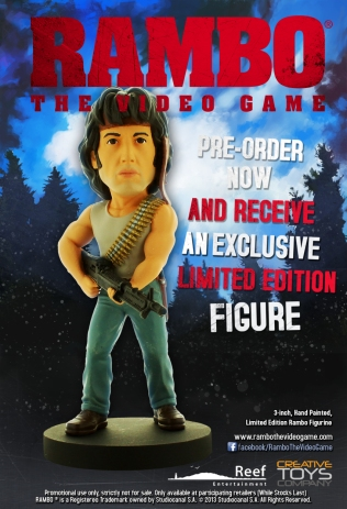 Rambo Figurine Screen 2