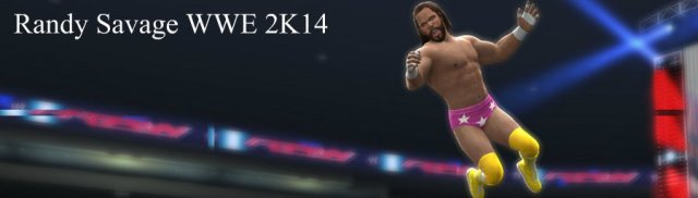 Randy Savage WWE 2K14