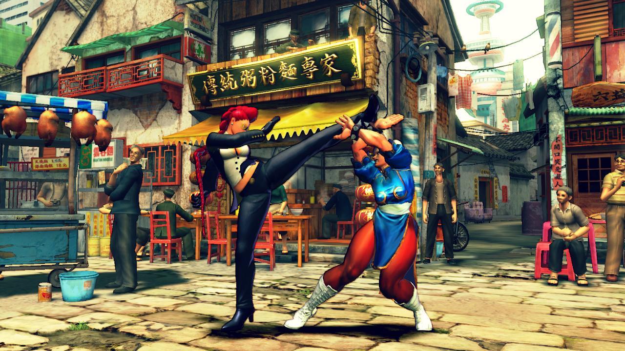 Street Fighter Wii U