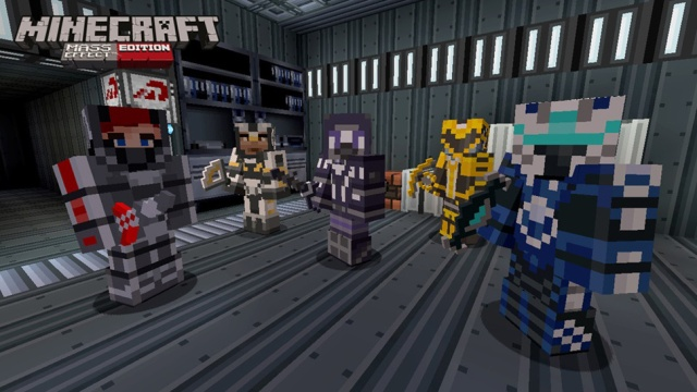 Minecraft Mass Effect Edition