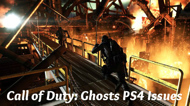 Call of Duty Ghosts PS4 Issues