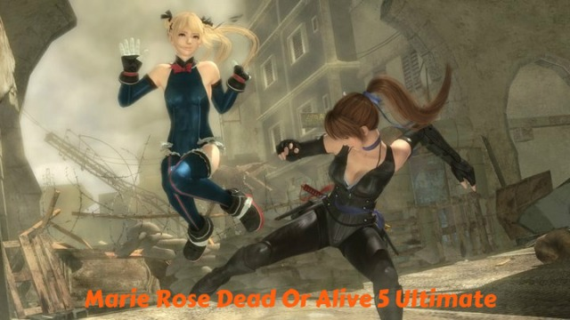 Marie Rose Dead Or Alive 5 Ultimate
