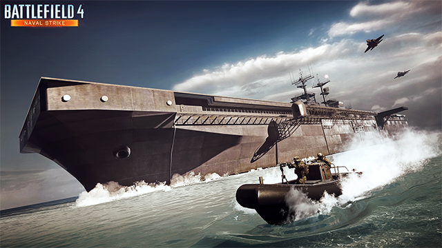 Battlefield 4 Naval Strike Carrier Assault Mode