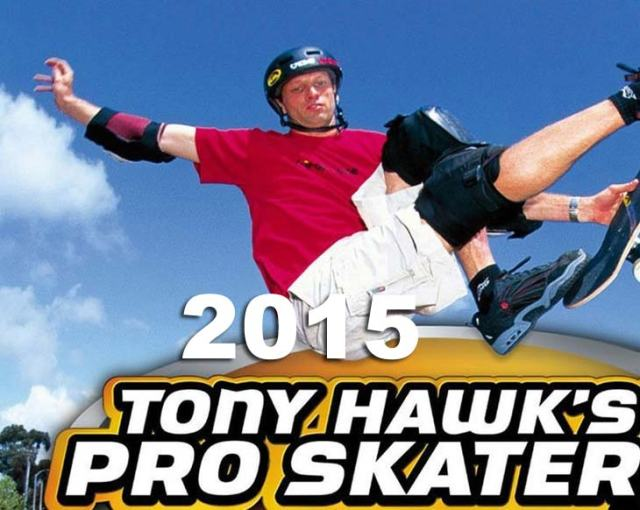 Tony Hawks 2015 game PS4 Xbox One